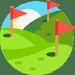 Avståndsmätare golf